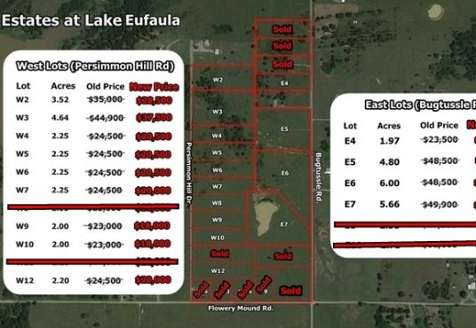Bugtussle Estates at Lake Eufaula